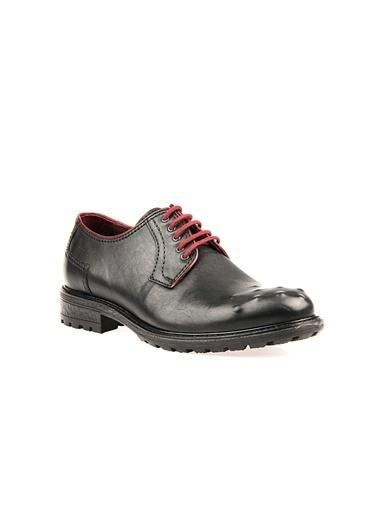 Uniquer Deri Ayakkabı Siyah